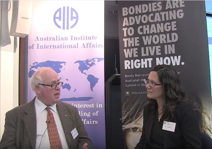 video-Treatment of Refugees and International Image: interview with William Maley