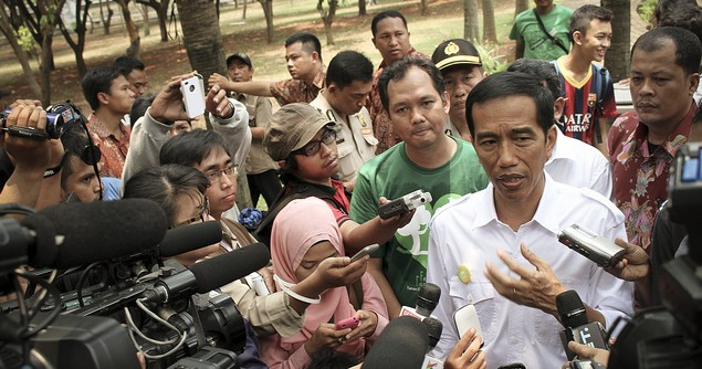 "Indonesian President Introduces His ""Work Cabinet"""