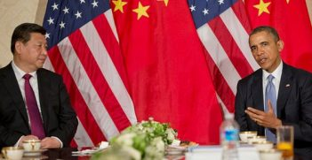 Presidents Xi and Obama, March 24 2014. Image credit: US Embassy The Hague