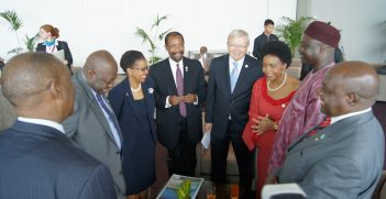 Ghana, South Africa, Australia, The Gambia Foreign Ministers at CHOGM in Perth, Australia. Image Credit: Flickr, Creative Commons.