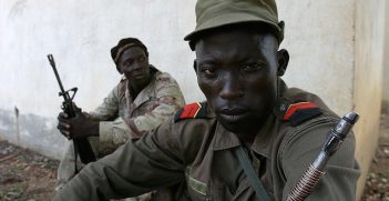 Rebel camp in the north-eastern Central African Republic. Image Credit: Flickr. Creative Commons.