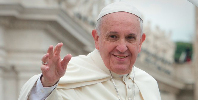 The pope's encyclical on climate change may have an effect on the conservative republican catholic presidential candidates. Photo Credit: Flickr (Aleteia Image Department) Creative Commons.