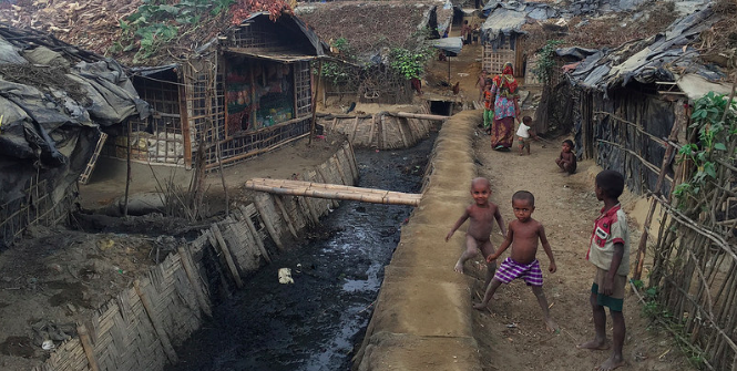 Undocumented Rohingya refugees in Bangladesh. Photo Credit: Flickr (European Commission DG ECHO) Creative Commons