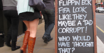 Sepp Blatter and FIFAs corruption. Photo Credit: Flickr (Duncan C) Creative Commons