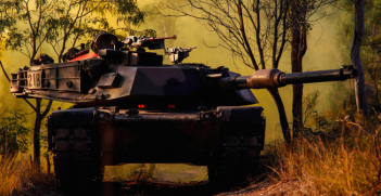 Australian Troops Return fire in a US Manufactured M1-A1 Abrahams Tank. Photo Credit: Flickr (US Department of Defence) Creative Commons.