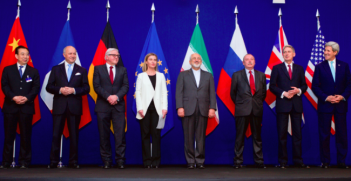The negotiators following the successful conclusion of the Iran nuclear deal. Photo Credit: Flickr (US Department of State) Creative Commons.
