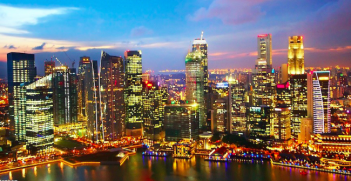 The skyline of Singapore on its 50th birthday. Photo Credit: Flickr (Christopher Chan) Creative Commons.