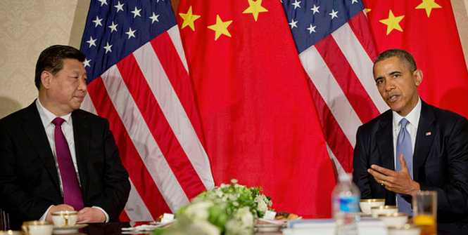 US President Barack Obama during a bilateral meeting with Chinese President Xi Jinping. Photo Credit: Flickr (U.S. Embassy The Hague) Creative Commons