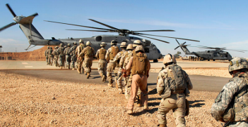 A joint US–Iraqi Army training exercise near Ramadi in November 2009. The Islamic State of Iraq had declared the city to be its capital.  Photo Credit: Flickr (The U.S. Army) Creative Commons
