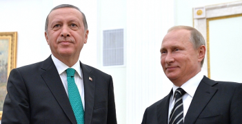 Recep Tayyip Erdoğan and Vladamir Putin in Moscow Steptember 2015. Photo Credit: (Asia Times) Creative Commons