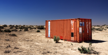 Abandoned shipping container. Photo Source: (Flickr) ccdoh1. Creative Commons.