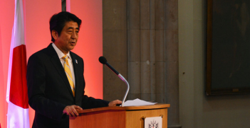 Japan's Economic Revival (at Guildhall, London) 20 June 2013. Photo Source: Wikimedia Commons. Creative Commons.