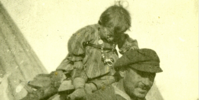 Colonel Treloar in Hellas in 1922. This photo copyrighted and used with permission.