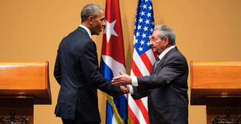 President Obama and President Raúl Castro of Cuba at their joint press conference in Havana, Cuba, Cuba, March 21, 2016. Photo source: IIP Photo Archive (Flickr). Creative Commons.