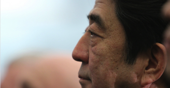 Japanese Prime Minister Shinzo Abe. Photo source: Day Donaldson (Flickr). Creative Commons.