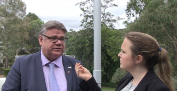 Finnish Minister for Foreign Affairs, Timo Soini.