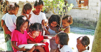 The Right to Education. Photo source: UN Photo/Jeffrey G. Delfin (Flickr). Creative Commons.