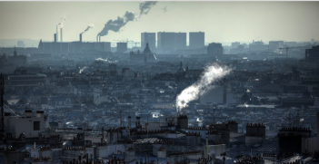 Chimneys of Paris. Photo source: Nicholas Jones (Flickr). Creative Commons.
