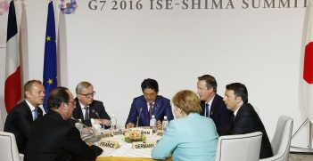 G7 meeting in Ise-Shima in Japan. Photo credit: European Council President (Flickr) Creative Commons