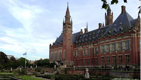 The Peace Palace in The Hague, location of the proceedings of the Philippines Arbitration Tribunal. Photo source: Roman Boed (Flickr). Creative Commons.