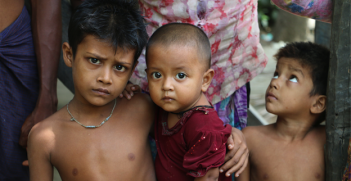 Rohingya children in Burma. Photo source: United to End Genocide (Flickr). Creative Commons.