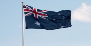 Australian Flag. Photo credit: Christian Haugen (Flickr) Creative Commons