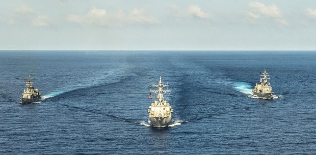 Maritime Security Cooperation Is China's Best Bet