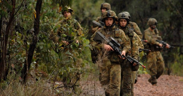 Australian army soldiers from the 2nd Battalion. Photo credit: WikiCommons