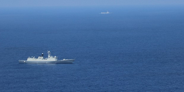 Chinese Vessel in the South China Sea. Photo credit: U.S. Pacific Fleet (Flickr) Creative Commons