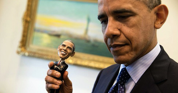 Obama_bobble. Photo Credit: White House. Creative Commons