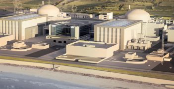 CGI view of Hinkley Point C