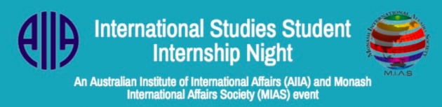 International Studies Student Internship Night