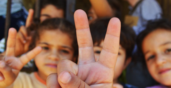 Syrian kids. Photo Credit: Trocaire (Wikimedia Commons) Creative Commons