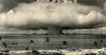 Bikini_atoll. Photo credit: James Vaughan (Flickr) Creative Commons