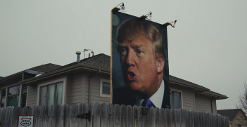 Trump_billboard. Photo Credit: Tony Webster (Flickr) Creative Commons