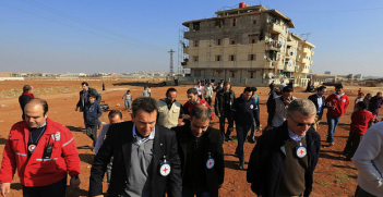 ICRC_in Syria. Photo Credit: ICRC (Flickr) Creative Commons