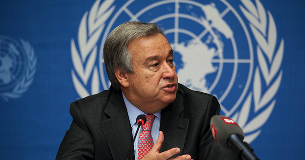 Guterres. Photo Credit: US Mission Geneva (Flickr) Creative Commons