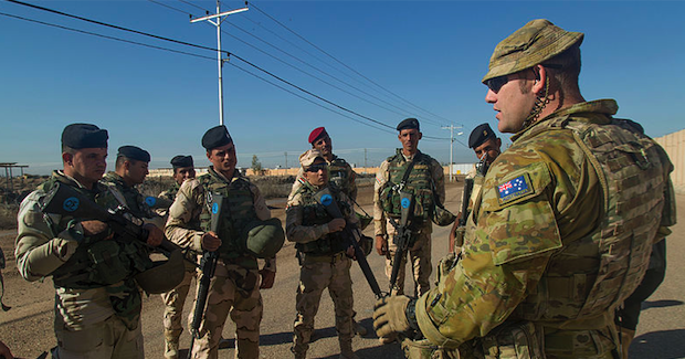 Australian Soldier Photo Credit: Spc. William Marlow US Army (Wikimedia Commons) Creative Commons