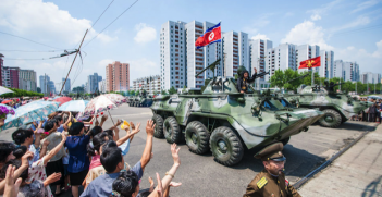 DPRK Parade Photo Credit: Uri Tours (Flickr) Creative Commons