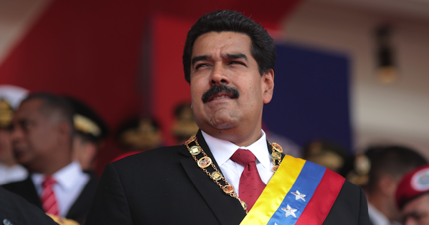 Presidente de Venezuela Nicolás Maduro Photo Credit: (Wikimedia Commons) Creative Commons