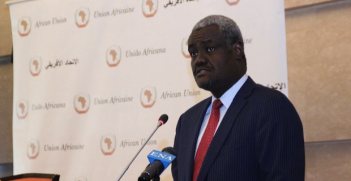 Incoming Chairperson of the AU Commission, Hon. Moussa Faki Mahamat of Chad Photo Credit: African Union Commission (Social Media)