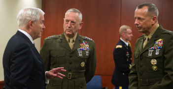 General Mattis Photo Credit: Cherie Cullen (Wikimedia Commons) Creative Commons