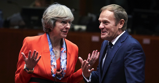 Theresa May with President of the European Council Donald Tusk Brexit Photo Credit: European Council (Flickr) Creative Commons