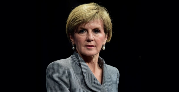 Foreign Minister Julie Bishop Photo Credit: Julian Smith/AAP (Flickr) Creative Commons