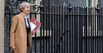 Theresa May. Photo from UK Prime Minister Twitter account.