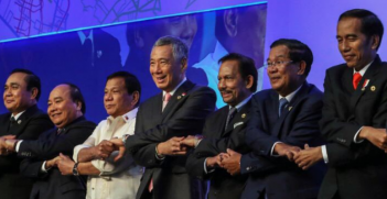 Leaders at the ASEAN Summit 2017. Photo from the ASEAN 2017 Chairmanship in the Philippines Twitter account.