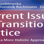 Reading Room: Current Issues in Transitional Justice