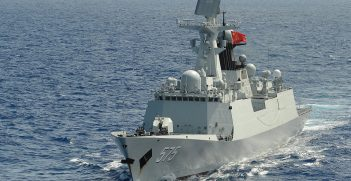 Chinese frigate Yueyang (FF 575) during Rim of the Pacific (RIMPAC) Exercise 2014; US Department of Defense