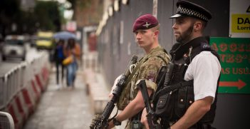 UK Security Personnel in London/ Credit: Defence Images