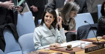 US chairs UN Security Council meeting.